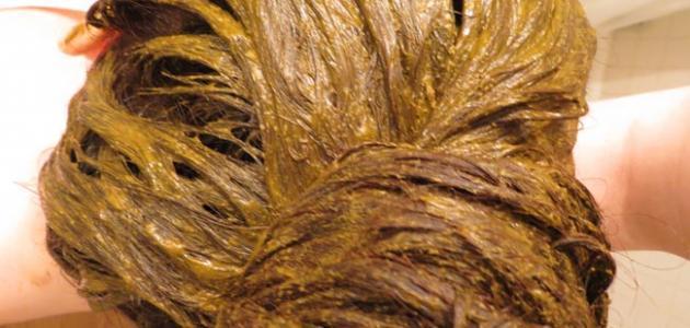 كيف ازيل رائحة الحناء من الشعر