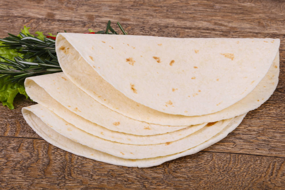 كيفية عمل خبز التورتيلا المكسيكي  شملولة