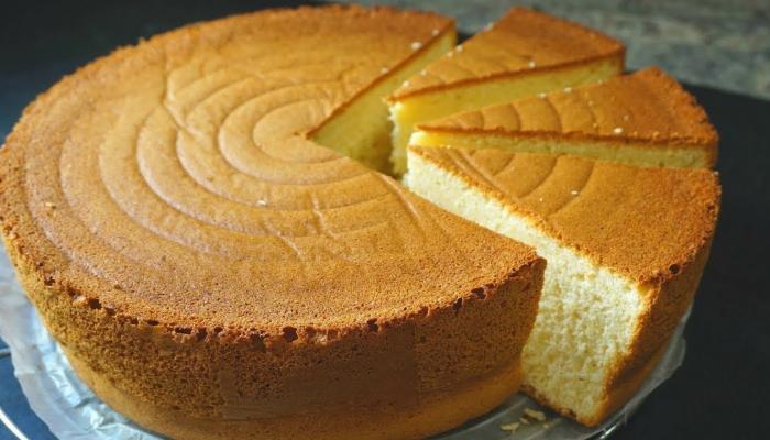 كيفية عمل الكيكة الإسفنجية العادية