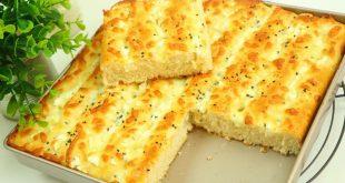 فطيرة الجبنة التركية بعجينة سحرية هشة بدون عجن رائعة لكافة انواع المعجنات  مع رباح محمد ( الحلقة 743 )