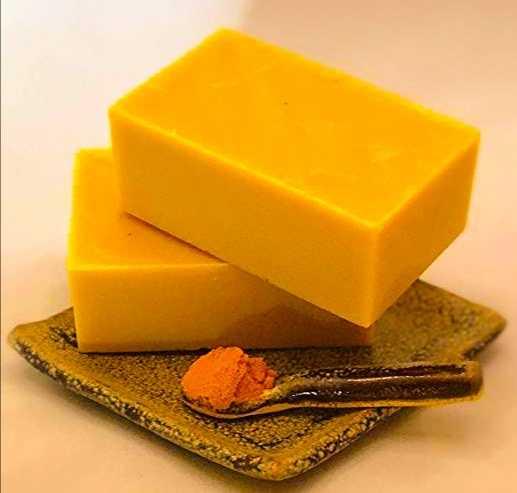 كيفية عمل صابون الكركم لتبييض البشرة و إزالة التجاعيد