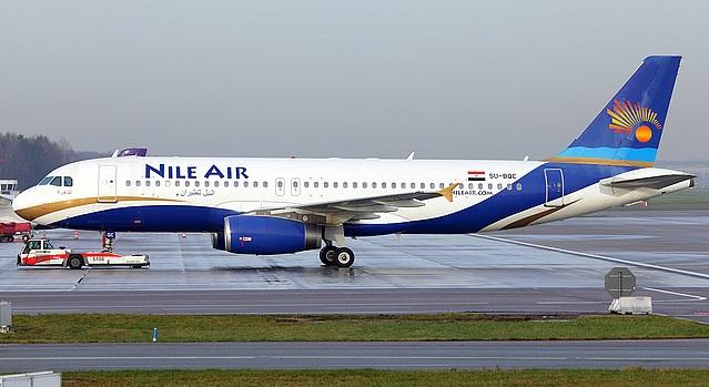 طيران النيل يدشن اولى رحلاته الى الجوف