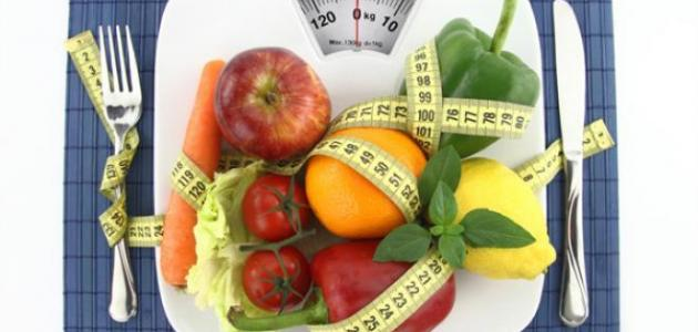 إنقاص الوزن فشهر