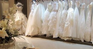 خياطة فستان الزفاف