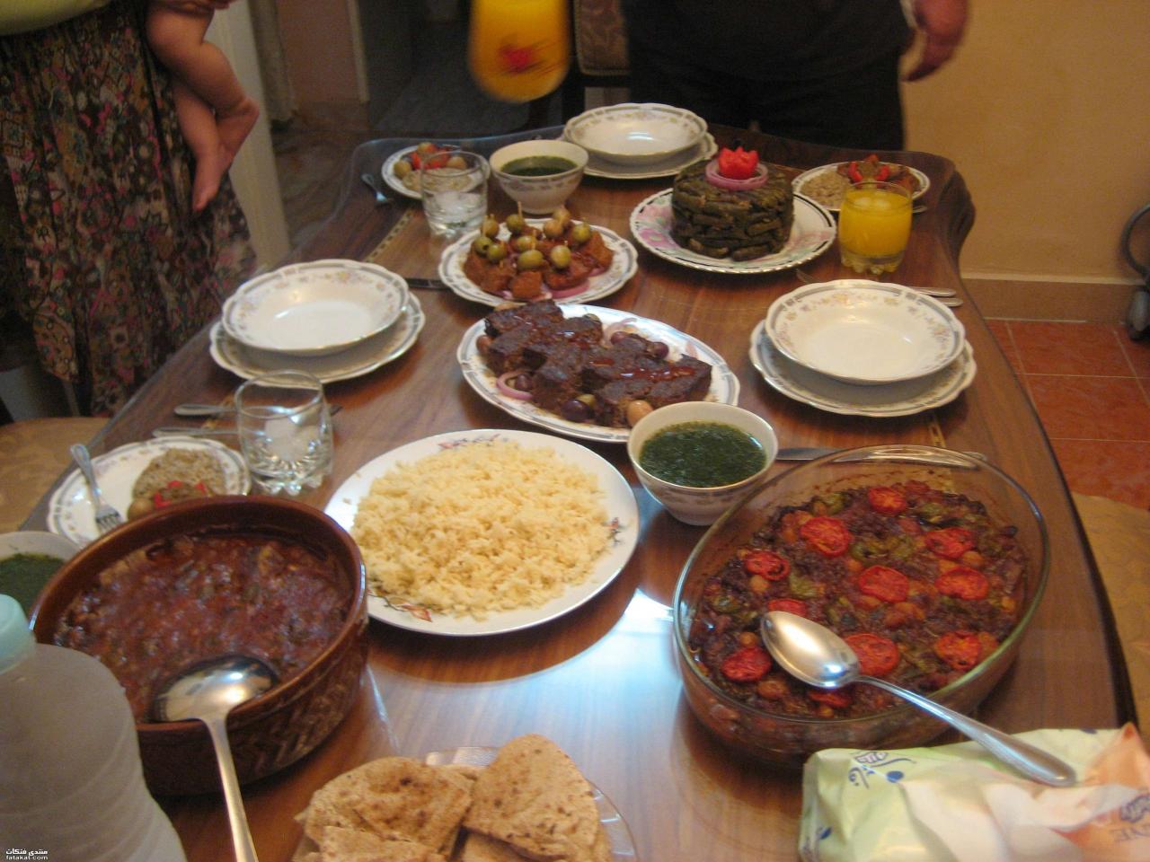 صورة عزومة عشاء في السريع وبالصور 1369 7