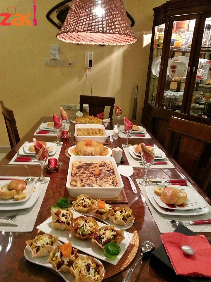 صورة عزومة عشاء في السريع وبالصور 1369 8