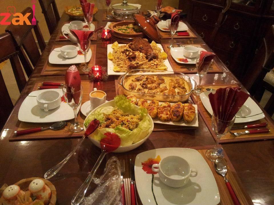 صورة عزومة عشاء في السريع وبالصور 1369 9