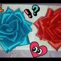 طريقة عمل وردة من شريط الساتان | DIY | Satin ribbon rose - YouTube