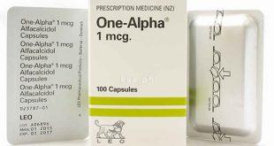 ون ألفا لعلاج نقص الكالسيوم وفيتامين د فى الدم One Alpha - الأجزخانة