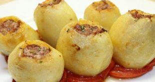 طريقة البطاطس المحشية - موضوع