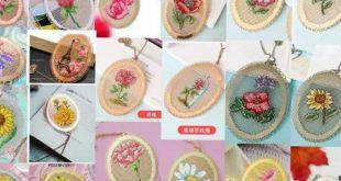 لمحبات الورود بالكروس ستيتش باترونات مذهلة