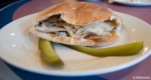 ساندويشات شورما بخبز التورتيلا بالخطوات المصورة