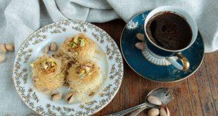 حلويات قهوة سريعة ولذيذة وحلوة