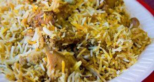 بالصور برياني باكستاني على اصولة من مطبخي بباكستان