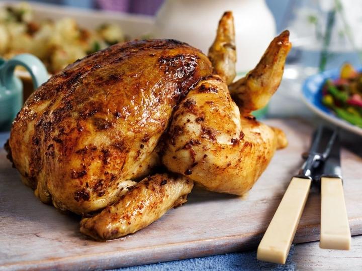 صورة احلى دجاج مشوي بطريقتي بالقصدير حياكم 2494 1