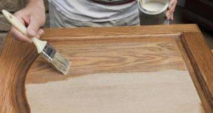 طريقة تعديل او تغيراو تجديد لون الاثاث الخشبي للغرف المنزلية او المكتبية