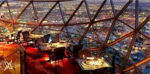 مطعم راقي ورومانسي بالرياض
